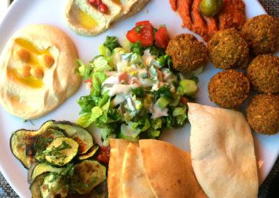 piatto falafel